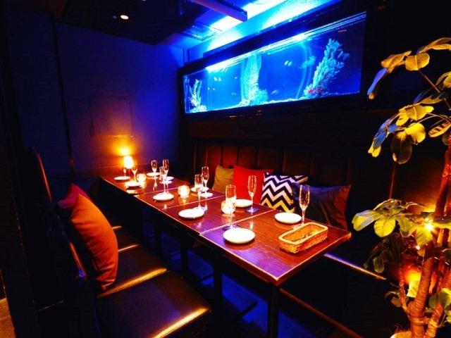 リゾート個室×アクアリウム フォレストガーデン横浜 横浜店