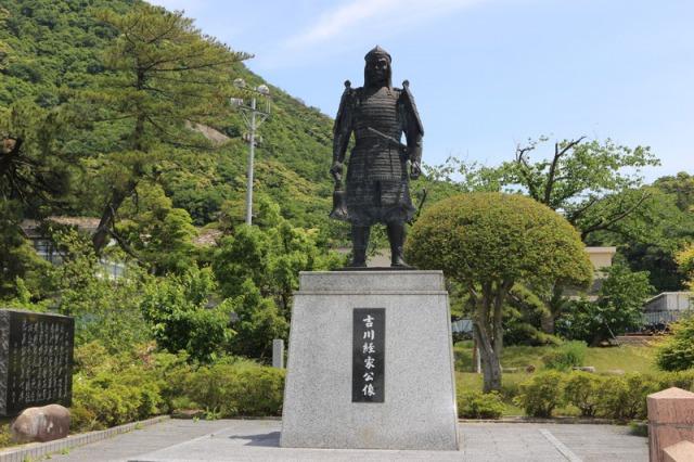 吉川経家公像